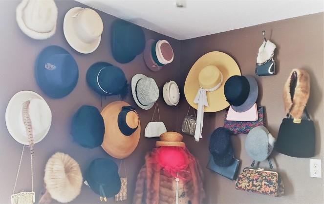 Closet Cleanout Hats