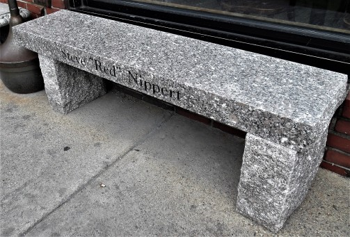 Gloucester 42 Steve Red Nippert Memorial Bench