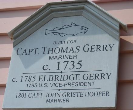 Capt Thomas Gerry 1735 1785 Elbridge Gerry US VP 1795