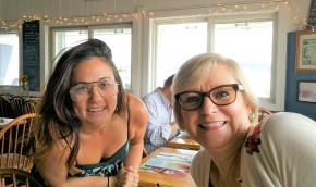 The Barnacle - Jamie and I at lunch