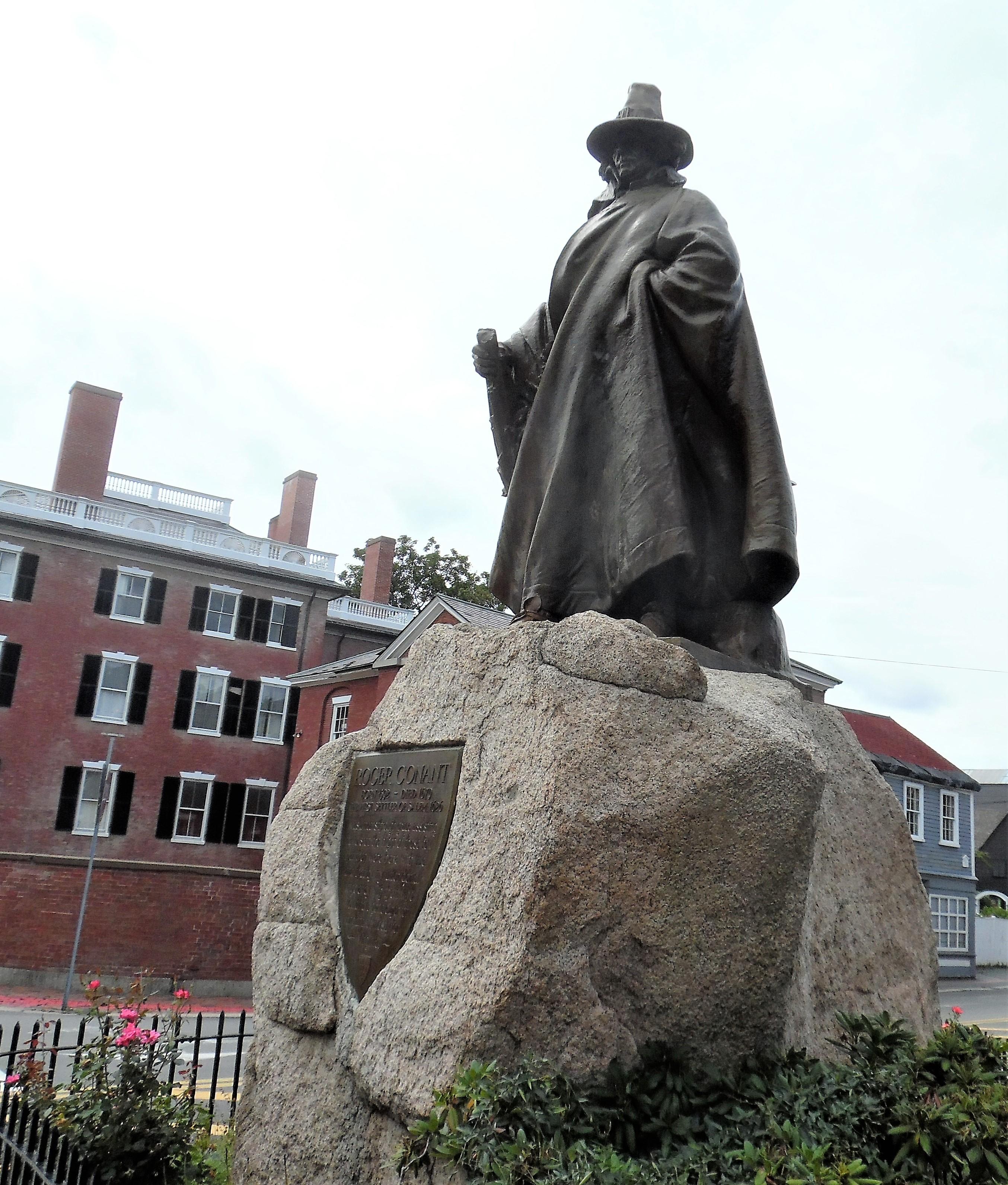 Salem MA 11 Roger Conant Founder
