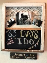 Shower 45 days to wedding